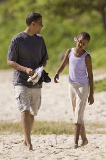 Las vacaciones familiares de Malia y Barak Obama
