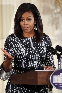 Primeras Damas de Estados Unidos: Michelle Obama
