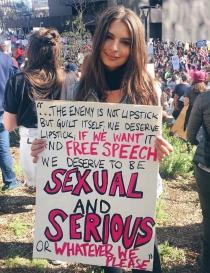 Famosas y feministas: Emily Ratajkowski