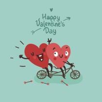 Tarjeta ideal para tu pareja este San Valentín