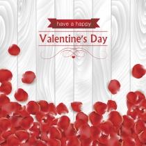 San Valentín en inglés en bonitas tarjetas
