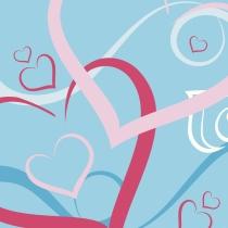 Corazones para las tarjetas de San Valentín