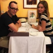 Cenas románticas para Laura Escanes y Risto Mejide