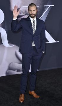 Jamie Dornan, premiere '50 sombras más oscuras'