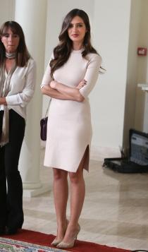 El vestido más discreto de Sara Carbonero