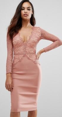 Un vestido muy sexy de ASOS para invitadas