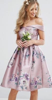 Un vestido de boda muy candy de ASOS