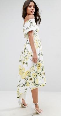 El vestido más primaveral de ASOS para bodas de mañana