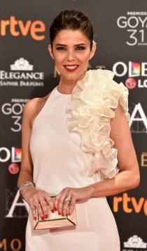 Premios Goya 2017: el look blanco de Juana Acosta