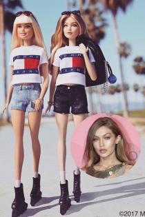 Versiones de Barbie de Famosas: Gigi Hadid