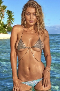 La foto más hot de Gigi Hadid para Sports Illustrated