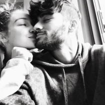 El San Valentín más especial de Zayn y Gigi Hadid