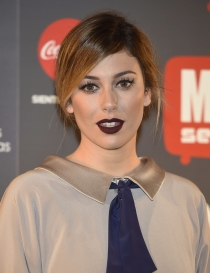 Blanca Suárez, labial oscuro