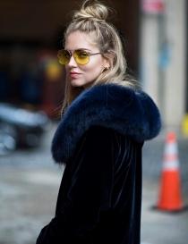 Tendencias Chiara Ferragni: Gafas tintadas