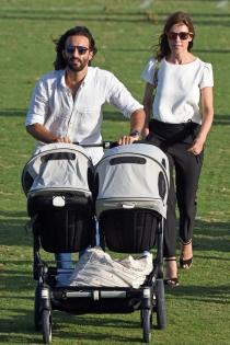 Famosos padres de gemelos: Raquel Sánchez Silva y Matías Dumont