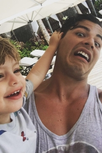 Manolo, el hijo de Sofía Vergara, siempre divertido