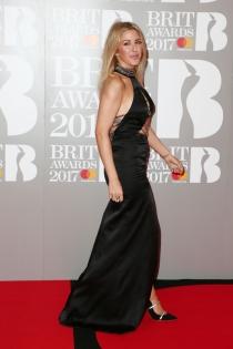 Brit 2017: el look más elegante de Ellie Goulding