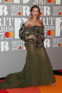 Brit Awards 2017: el mejor look de Rita Ora