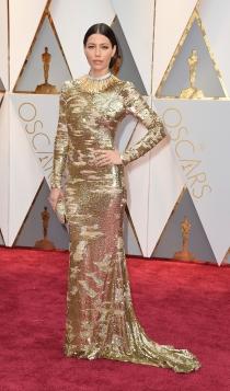 Oscars 2017: Jessica Biel