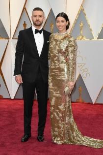 Parejas de los Oscars 2017: Jessica Biel y Justin Timberleake