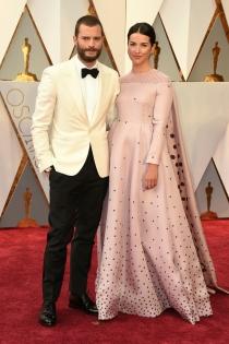 Parejas de los Oscars 2017: Jamie Dornan y Amelia Warner