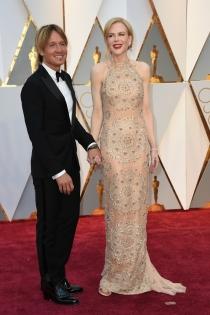 Parejas de los Oscars 2017: Nicole Kidman y su marido
