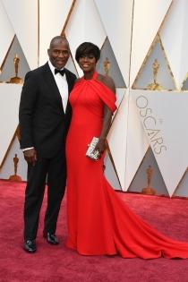 Parejas de los Oscars 2017: Viola Davis y su marido