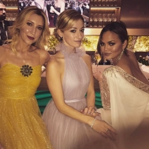 Oscars 2017 en Instagram: Chrissy Teigen y más famosas