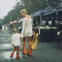 Porque madre e hija visten iguales