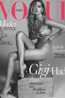Gigi Hadid desnuda: divinidad para la moda