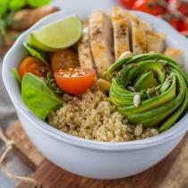 Alimentos con fibra: Quinoa
