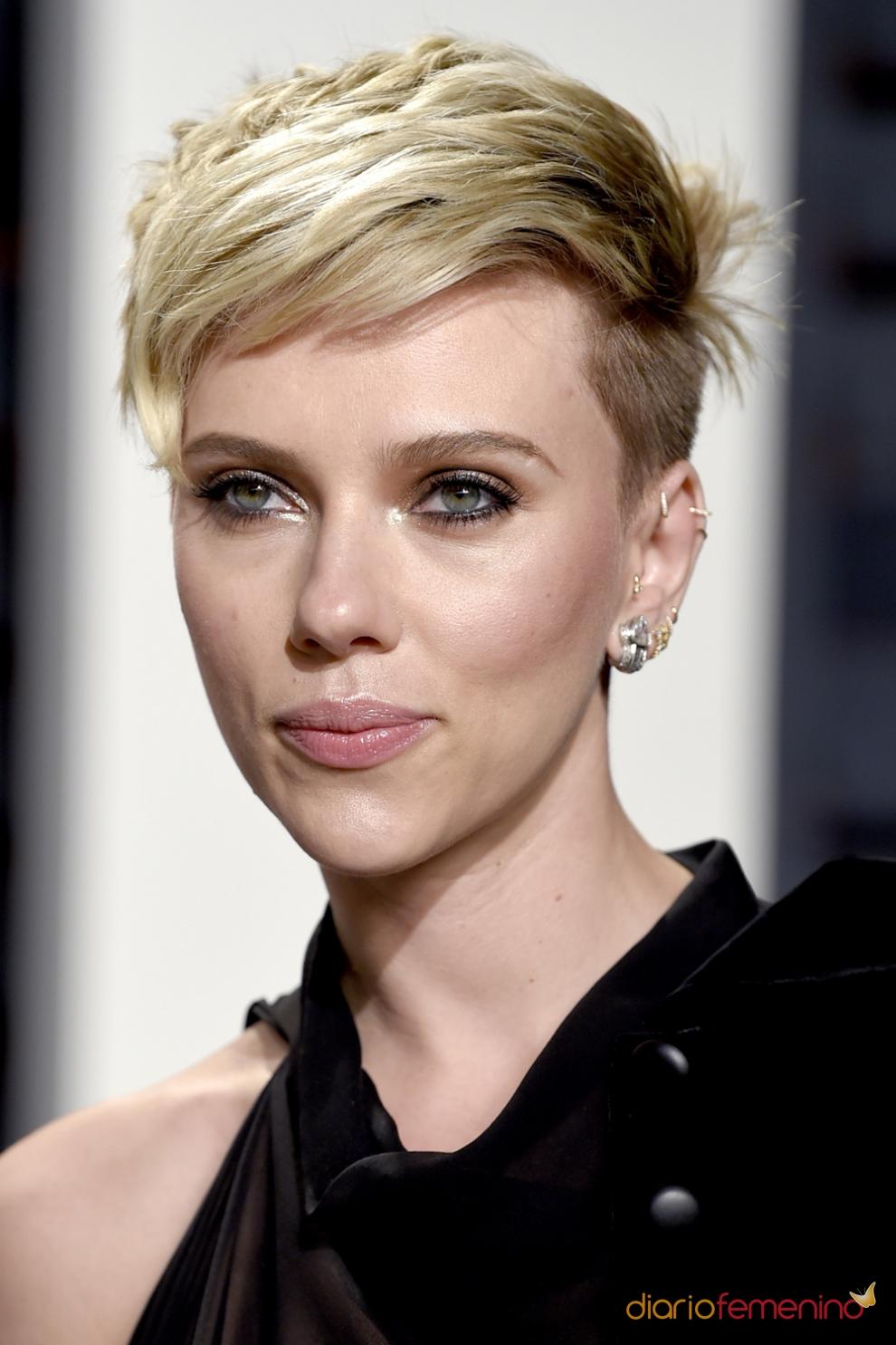 Minimalista peinados pelo pixie Fotos de cortes de pelo tendencias - El corte de pelo pixie con flequillo de Scarlett