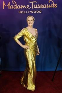 El doble de cera de Meryl Streep