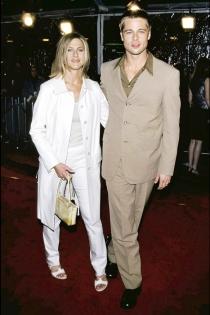 Los looks más desagradables de Brad Pitt y Jennifer Aniston