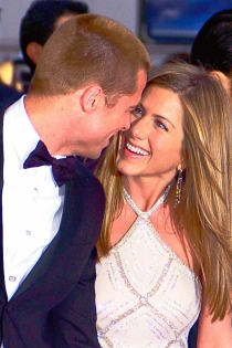 La complicidad de Jennifer Aniston y Brad Pitt