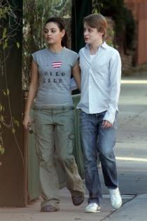 Parejas que no recordábamos: Mila Kunis y Macaulay Culkin