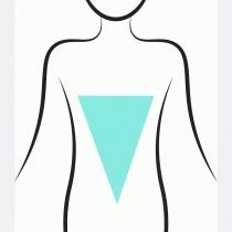 Qué pantalón te favorece más según tu tipo de cuerpo: Triángulo invertido