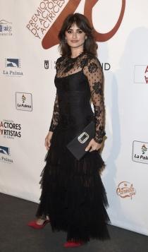 Premios Unión de Actores 2017: Penélope Cruz