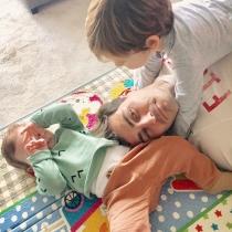 Iker Casillas y sus pequeños