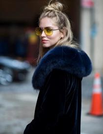 Gafas tintadas: Chiara Ferragni