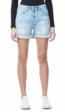Shorts de Good American: tejido denim ideal