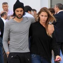 La pareja feliz formada por Sergio Sánchez y Elisabeth Reyes