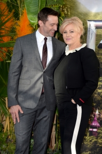 Parejas que no pegan: Hugh Jackman y Deborra- Lee Furness