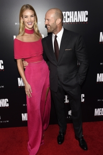 Parejas que no pegan: Rosie Huntington y Jason Staham