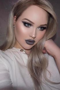 Un maquillaje en gris de Nikkie Tutorials en Instagram