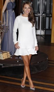 Vestidos cortos para novias: el look de Echevarría