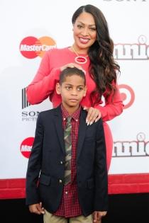 La La Anthony con el hijo que tuvo con su ya exmarido