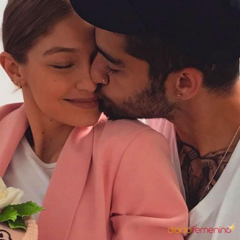 Mucha complicidad entre Gigi Hadid y Zayn Malik