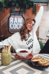 La dieta sana de María Pombo en Instagram