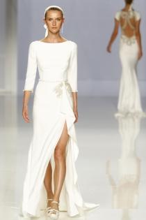 Vestido de novia de Rosa Clará: estilo romano